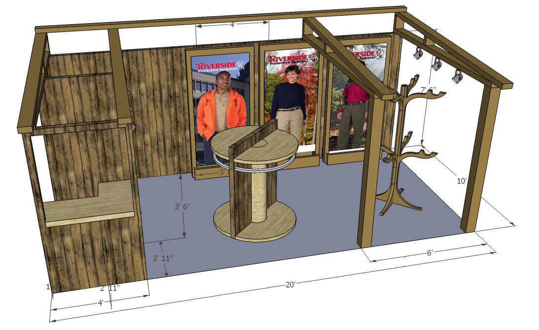 Outdoor Exhibition Booth Design : Trade show exhibit design camic centennial co